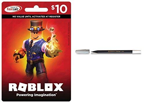 BUNDLE: Roblox $10 Card AND Snowman Pencil Marker ()