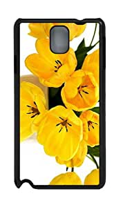 amazing case Speckled Yellow Tulips PC Black case/cover for Samsung Galaxy Note 3 N9000