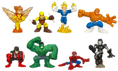 - Marvel Superhero Squad Collector's Pack