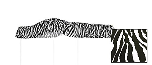 Twin Size Zebra Animal Print Canopy Top Fabric by The Furniture Cove (Image #2)