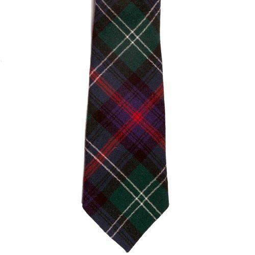 100% Wool Tartan Traditional Neck Tie - Sutherland Modern