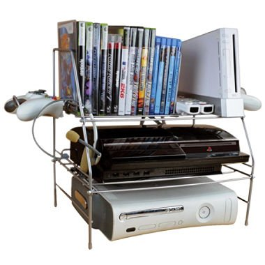ATL45506114 - Atlantic GAME DEPOT WIRE GAME RACK - Stand Game