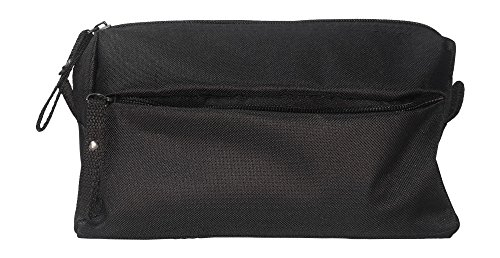 TSO Mens Wedding Party Toiletry Bag - Black Dopp Bag and Travel Toiletry Bag for Holding All Your Needs (9.25'' x 5'' x 3.75'') (Father of the Bride) by The Spoiled Office (Image #1)
