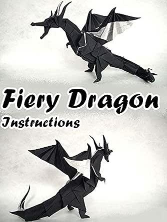 How to make an origami Fiery Dragon v.2 (Kade Chan) - YouTube | 445x334