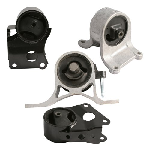 4pc Motor Engine Mounts Set Kit for 02-06 Nissan Altima 2.5L 4Cylinder Automatic or Manual Transmission - 2002 2003 2004 2005 2006 (6 Cylinder Automatic Transmission)
