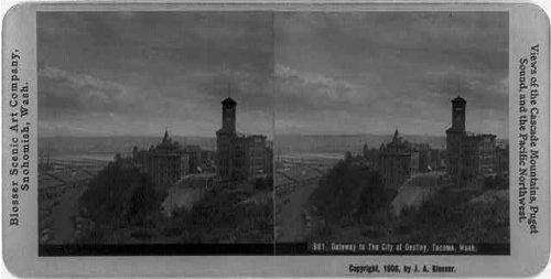 Photo: Gateway to the city of destiny,Tacoma,Washington,WA,c1906,Pierce - Wa In Tacoma Shopping