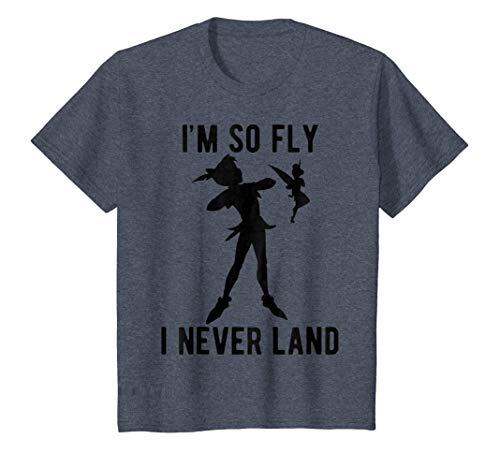 Disney Peter Pan Tinker Bell Im So Fly I Never Land T-Shirt