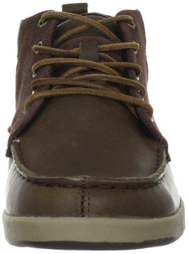 Cat Footwear ALEC MID P715311 - Botas de cuero para hombre Marrón