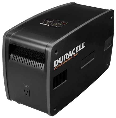 Duracell 852-1807 1,800 Watt Five Outlet Rechargeable Power Source by Duracell