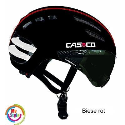 Casque casque de cyclisme SpeedAiro, calotte rigide inclus, disponible en tailles, modèles et design différents