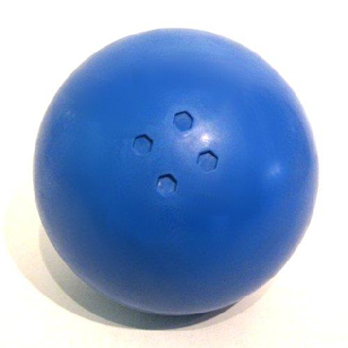 Boßelkugel aus Gummi (blau) Carls Boßelkugeln