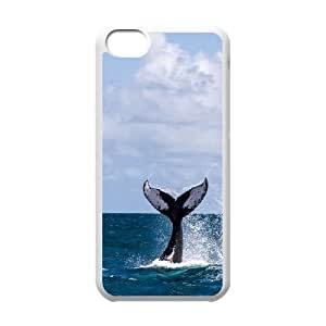 Hjqi - Custom Dolphin Phone Case, Dolphin Personalized Case for iPhone 5C
