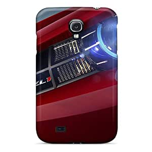 Tpu Case Cover For Galaxy S4 Strong Protect Case - Chevrolet Camaro Zl1 Design