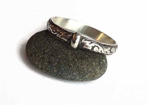 - Heirloom Thistle Ring - Sporran Key Outlander Style - .925 © - Ships Priority