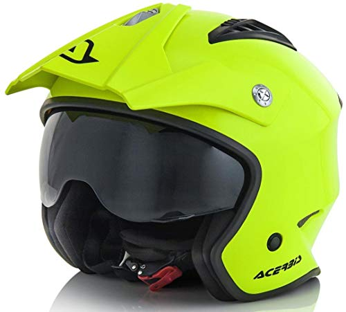Acerbis 0022569.061.066 helm, geel, L
