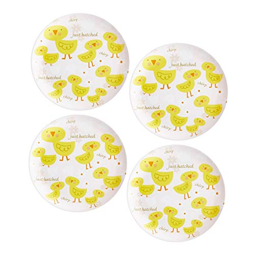 (New 4pc Chirp Yellow Chick Birds