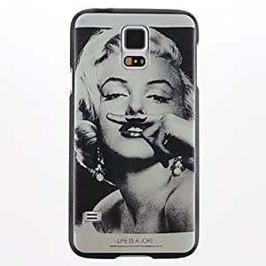 Marilyn Monroe Plastic Hard Case for Samsung S5 I9600