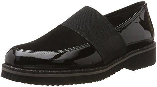 Schwarzssparkgl Negro para Gabor Shoes Mujer Derby Comfort Sport nwYTYq07