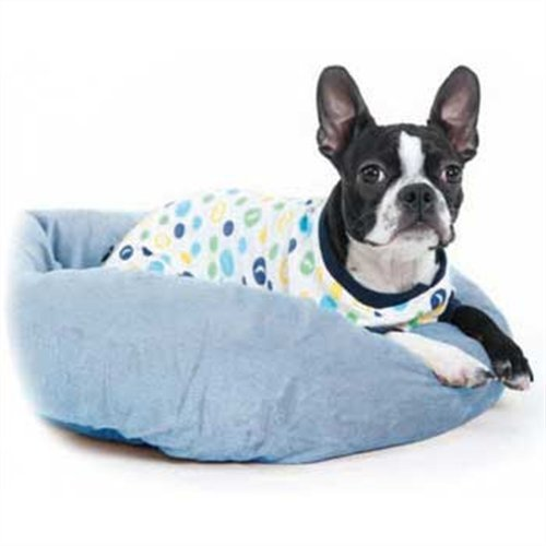 Fashion Pet Lookin Good Sleepy Time Pajamas for Dogs, Small, Blue, My Pet Supplies