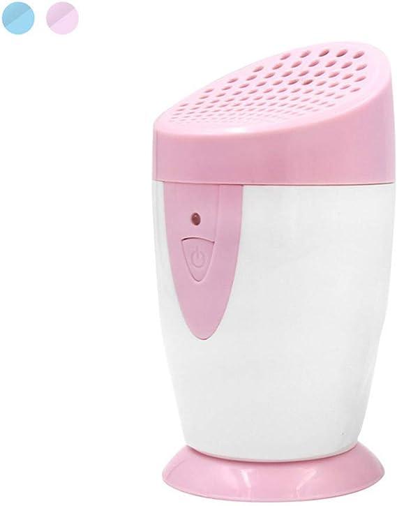 El purificador del aire del generador del ozono captura alergias, bacterias, polvo, molde, polen para la limpieza casera del aire, reduce olores de fumadores, animal doméstico, productos químicos,Pink: Amazon.es: Hogar