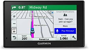 Garmin PowerSmart 51 NA LMT-S with Lifetime Maps/Traffic, Live Parking, Bluetooth,WiFi, Smart Notifications, Voice Activation, Driver Alerts, TripAdvisor, Foursquare