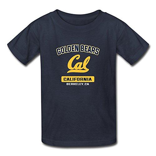 Unisex Baby Cal Bears Campus Logo Shirts Navy