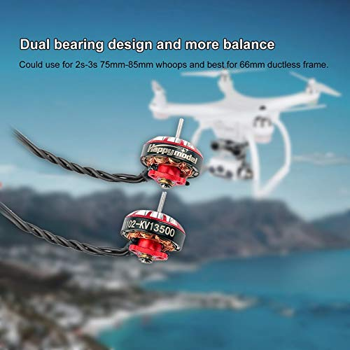Wikiwand 13500KV Brushless Motor for Sailfly-X Mobula7 HD Drone 2s-3s 75mm-85mm BWhoops