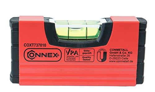 Connex Mini-Wasserwaage 10 cm, magnetisch, COXT737010