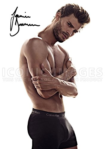 Iconic Images Fifty 50 Shades Of Grey Movie Print Jamie Dornan (11.7