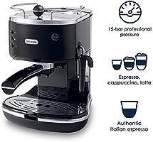 Amazon.com: DeLonghi Icona Bomba cafetera de espresso, Negro ...