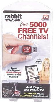 As Seen On Tv: Rabbit Tv [3 Pieces] - Product Description - Rabbit Tvthe Rabbit Tv Usb Gives You Access...