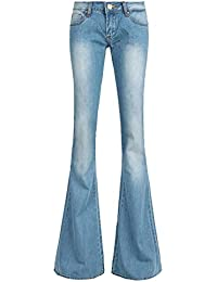 Amazon.com: Flared - Jeans / Clothing: Clothing, Shoes & Jewelry
