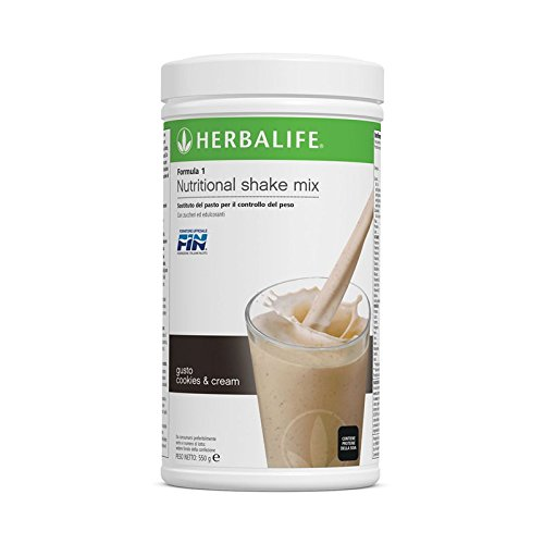 Formula 1 Instant Healthy Meal Nutritional Shake Mix Vanilla Dream Canister by Herbalife: Amazon.es: Salud y cuidado personal
