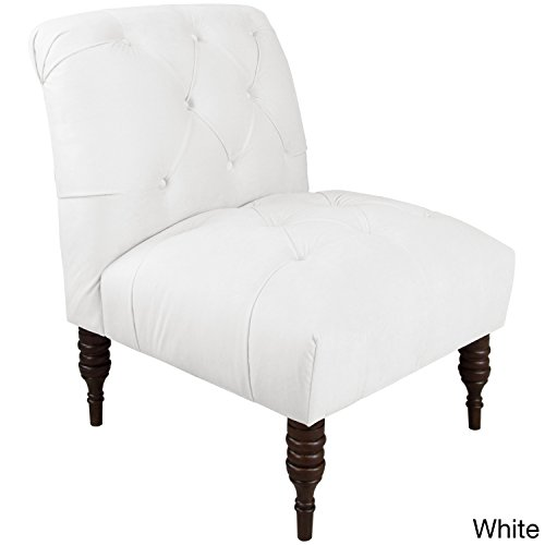 Skyline Tufted Chair in White