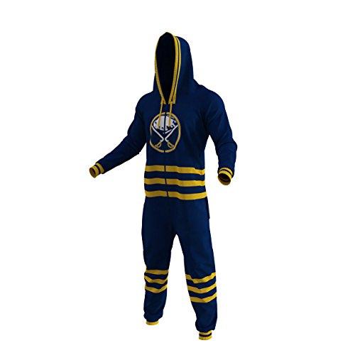 (Brand New NHL Team Buffalo Sabres Hockey Sockey Onesie Fan Apparel (X Small))