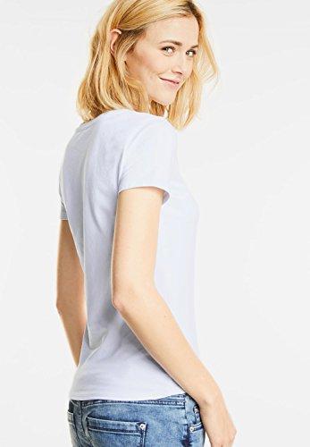 Street One - Camiseta - Básico - Manga corta - para mujer white (weiss)