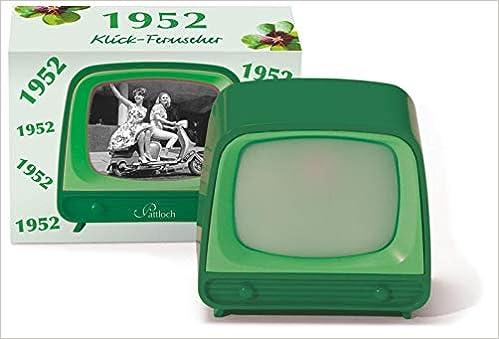 1952 Klick Fernseher Bücher