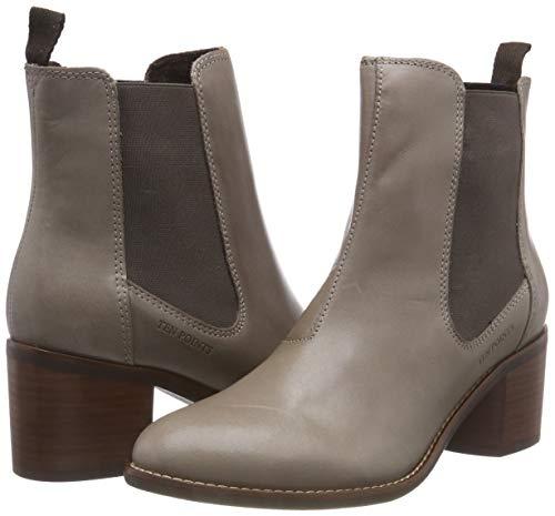 taupe Boots Josette Women''s 356 Points Ten Grau gBHgXx