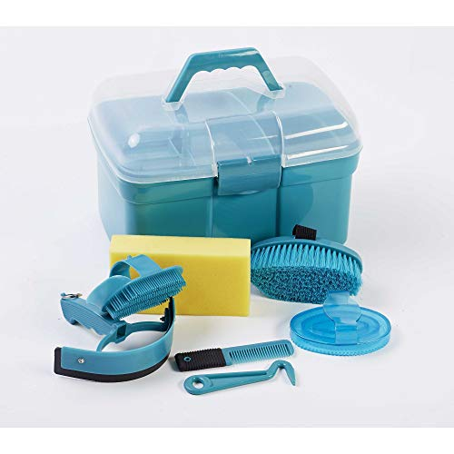 Roma Ultimate 10 Piece Grooming Kit (One Size) (Teal) -