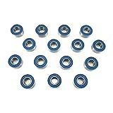 #10: Traxxas 2WD Slash, Stampede Wheel, Hub, Trans Bearings BU, 5x11x4mm (15)