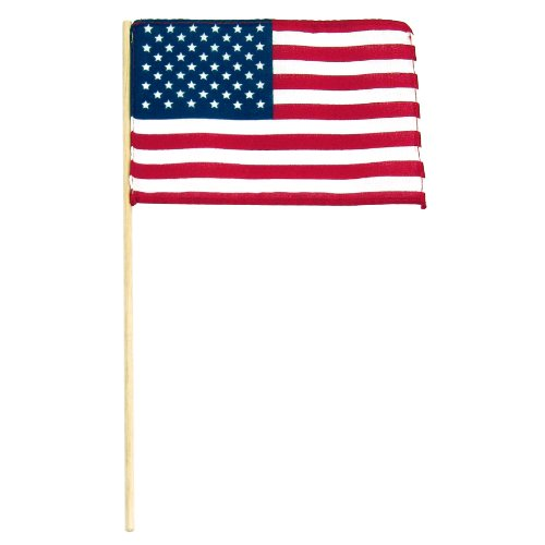 Online Stores 25-Pack USA Stick Flag No Spear Tip, 4 by - Stores Usa In Online
