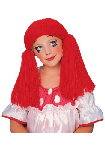 Rag Doll Girl Wig - ST ()