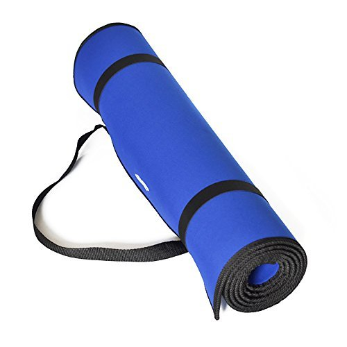 JmeGe Yoga Mat, Yo01 1/3-Inch Non-Slip Exercise Yoga Mat with Edge Belt and Carrying Strap For Sale