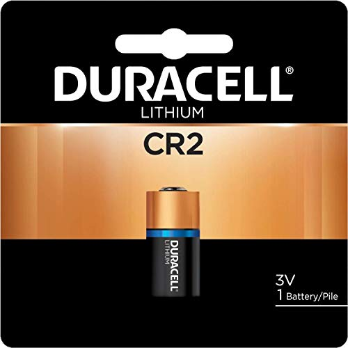 Duracell Ultra High Power Lithium Battery, CR2, 3V