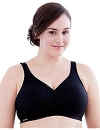 2523ae69521f Women's Full Figure MagicLift Plus Size Seamless Wirefree Back Close Sports  Bra #1006