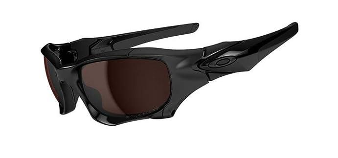 Oakley mens Pit Boss II OO9215-02 Polarized Sport Sunglasses,Polished  Black,55