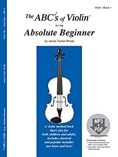 The ABCs of Violin for the Absolute Beginner, Book 1 (Book & MP3/PDF) (0825871247)   Amazon Products