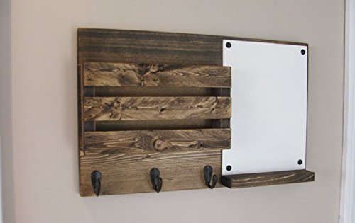Dry Erase, Mail Organizer, Mail Holder, Rustic Organizer, Key Holder, Personalization Option