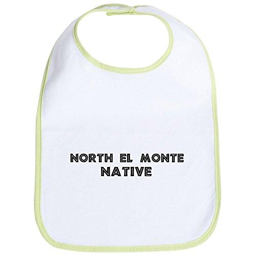 CafePress - North El Monte Native Bib - Cute Cloth Baby Bib, Toddler - Del Locations Monte