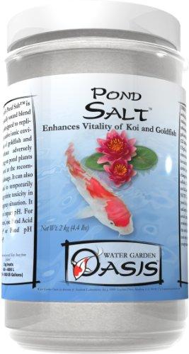 Pond salt 20 kg 44 lbs pets geeks for Salt in koi pond